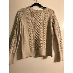 NEW [without tags] Cream Knit Gap Sweater